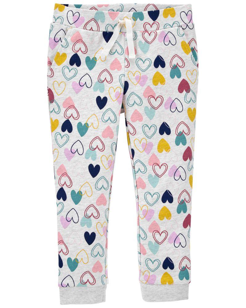 Pantalon de jogging à cœur, , hi-res