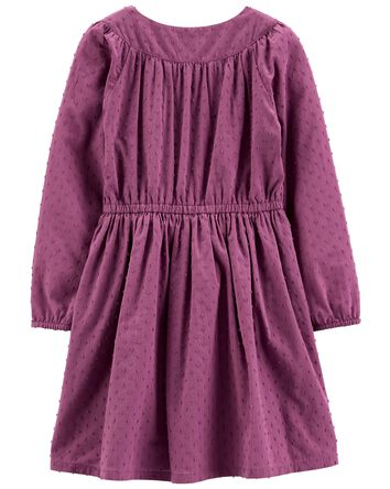 Woven Dobby Dress
