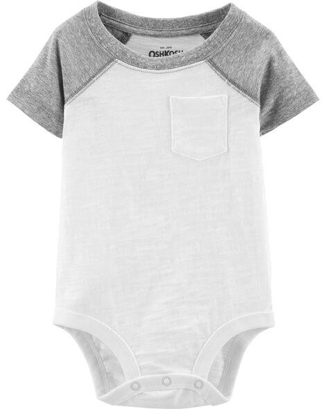 Pocket Jersey Bodysuit