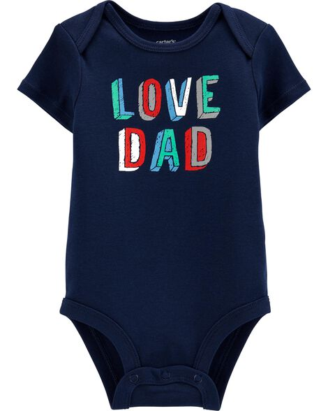 Love Dad Collectible Bodysuit