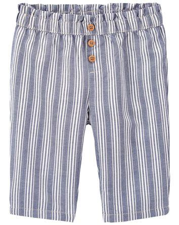 Striped Straight Leg Pants