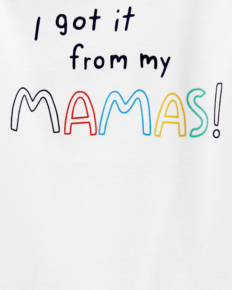 Get It From My Mama Bodysuit, , hi-res
