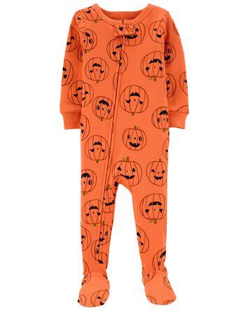 Halloween 2-Way Zip-Up Cotton Seep...