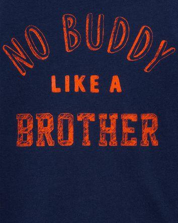 No Buddy Like A Brother Jersey Tee