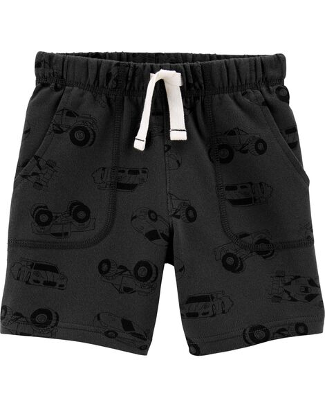 Cars Pull-On French Terry Shorts