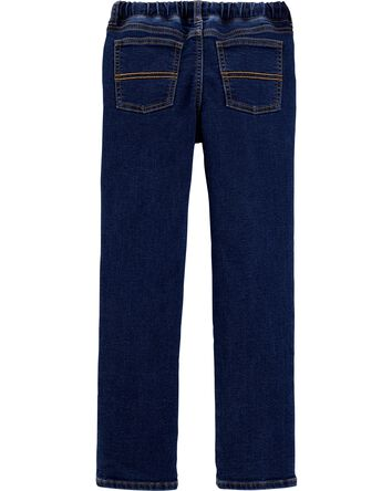 Pull-On Denim Pants