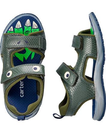 Sandales à dinosaures