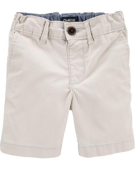 Shorts en coutil extensible