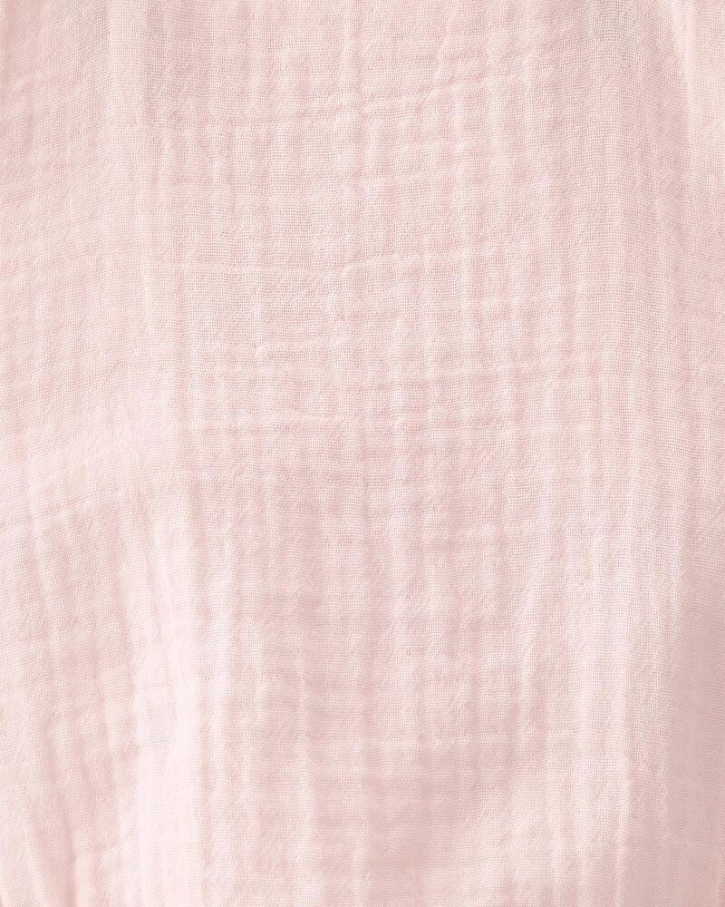 Organic Cotton Gauze Bubble Sunsuit, , hi-res