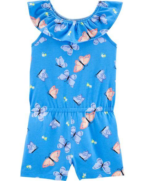 Butterfly Jersey Romper
