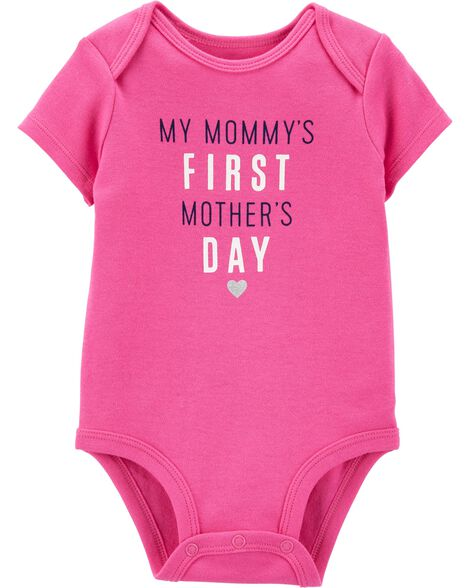 Mommy's First Mother's Day Collectible Bodysuit