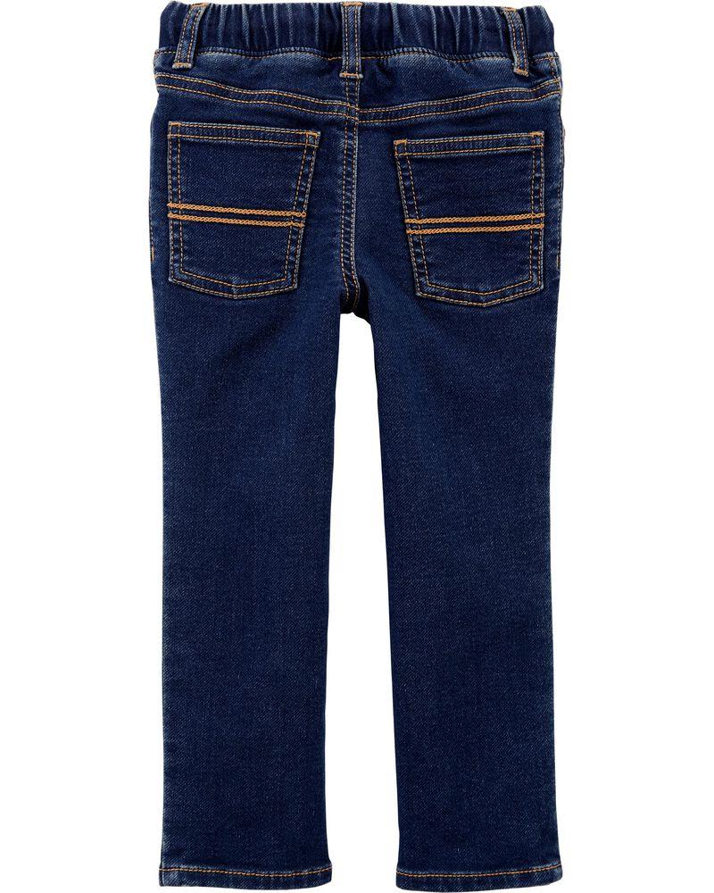 Pull-On Denim Pants, , hi-res