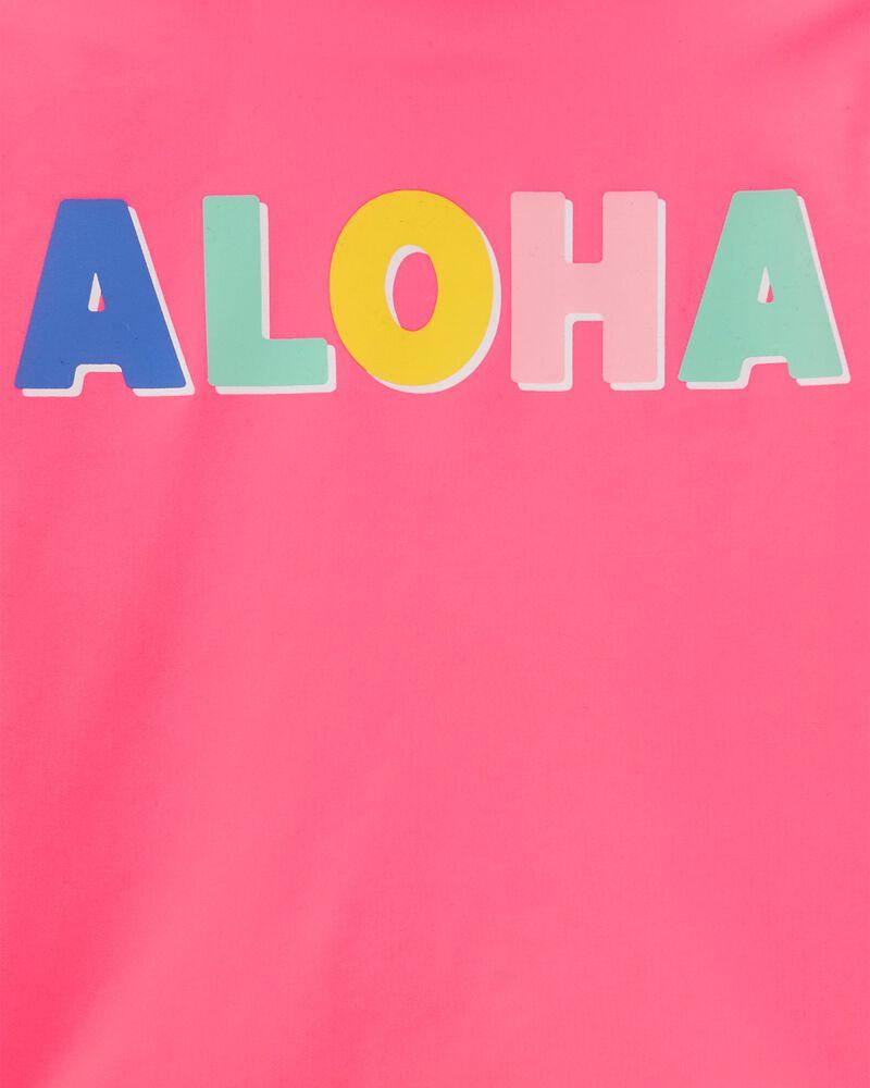 Ensemble 2 pièces maillot dermoprotecteur Aloha, , hi-res