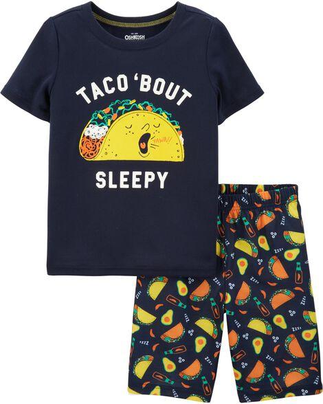 Pyjama 2 pièces à taco