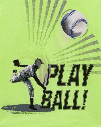 T-shirt en jersey Play Ball