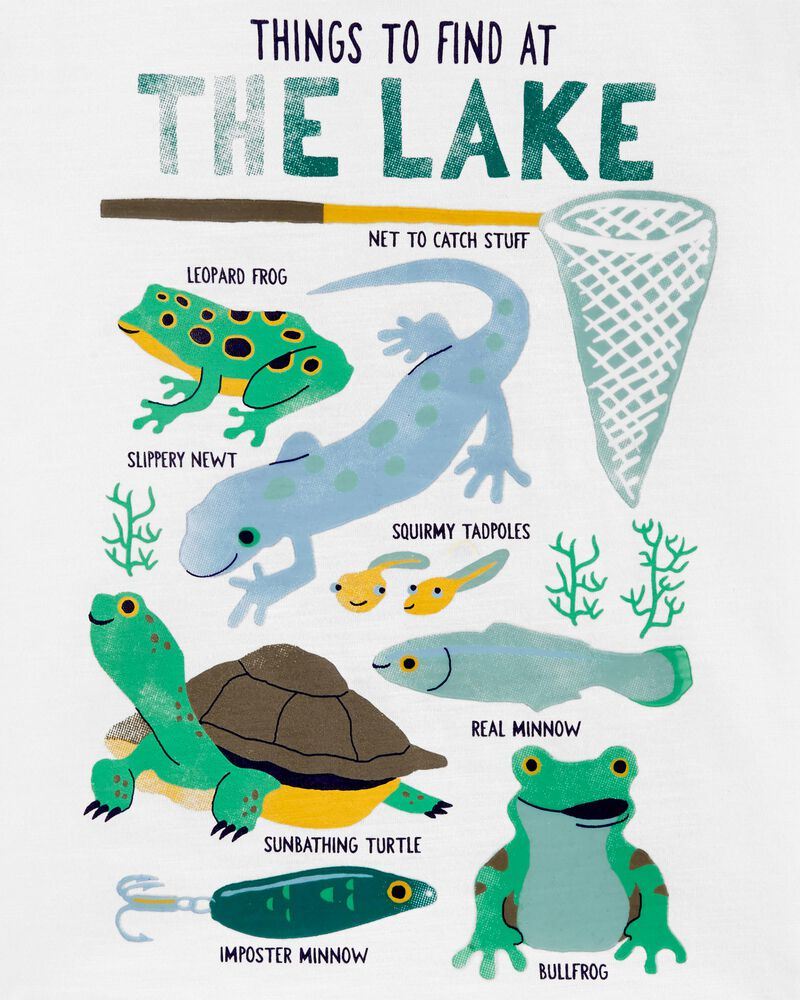Things To Find At The Lake Slub Jersey Tee, , hi-res