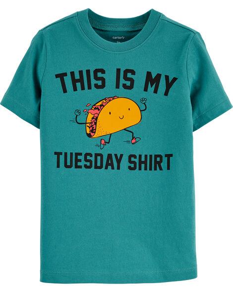 Taco Tuesday Jersey Tee