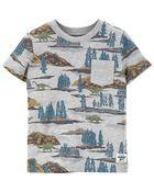 T-shirt à poche et dinosaure, , hi-res
