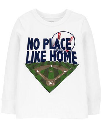 No Place Like Home Baseball Jersey...