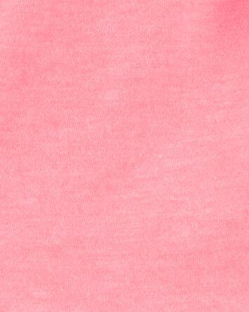 2-Piece Neon Ruffle Top & Striped S...