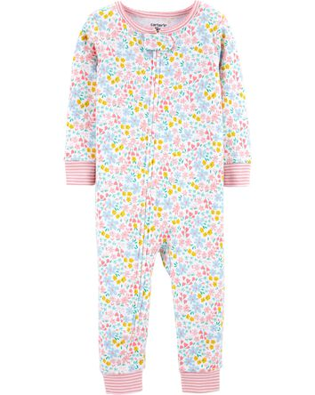 1-Piece 100% Snug Fit Cotton Footle...