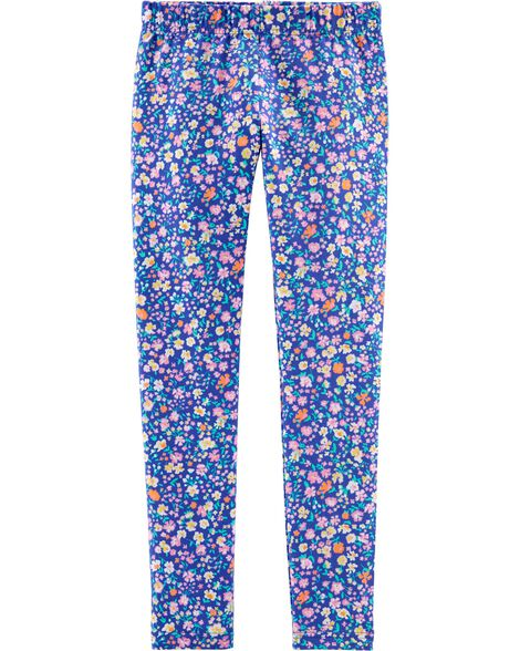Ditsy Floral Jersey Leggings
