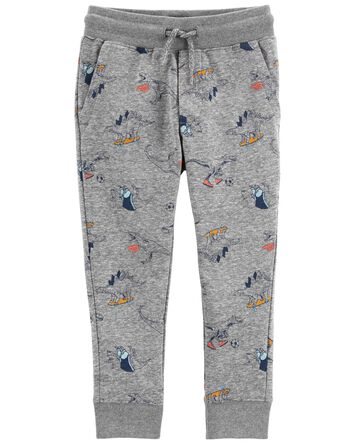 Dinosaur Knit Joggers