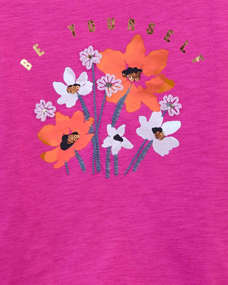 Sparkle Flower Top, , hi-res