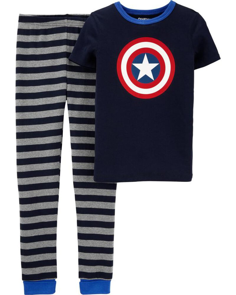 Pyjama 2 pièces en coton ajusté ©MARVEL, , hi-res
