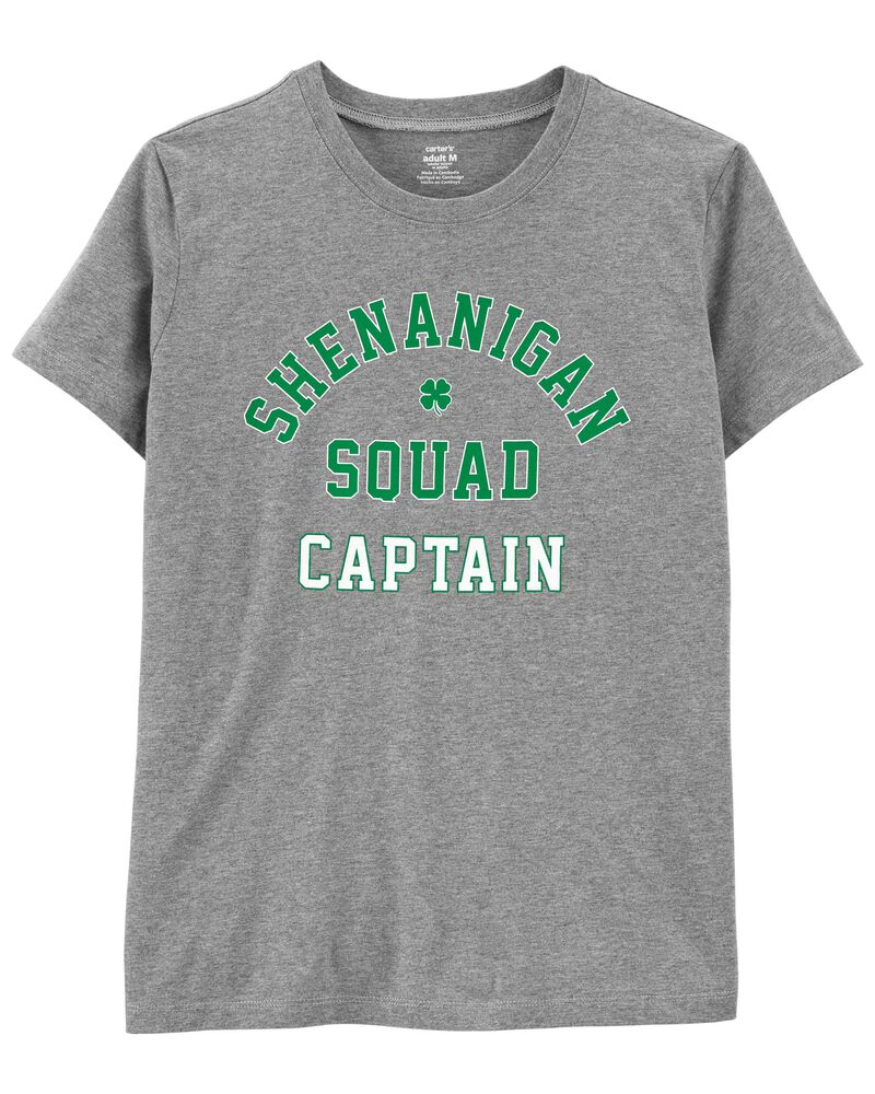 Adult Women's St. Patrick's Day Jersey Tee, , hi-res
