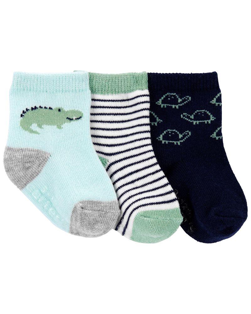 3 paires de chaussons, , hi-res
