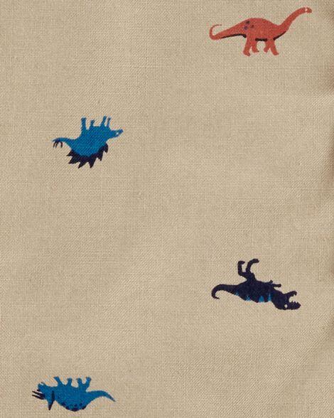 Dinosaur Button-Front Romper