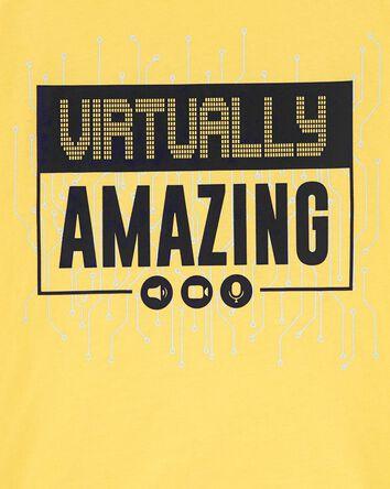 T-shirt en jersey Virtually Amazing...