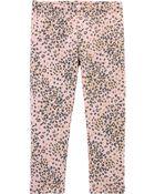 Leopard Cozy Fleece-Lined Leggings, , hi-res