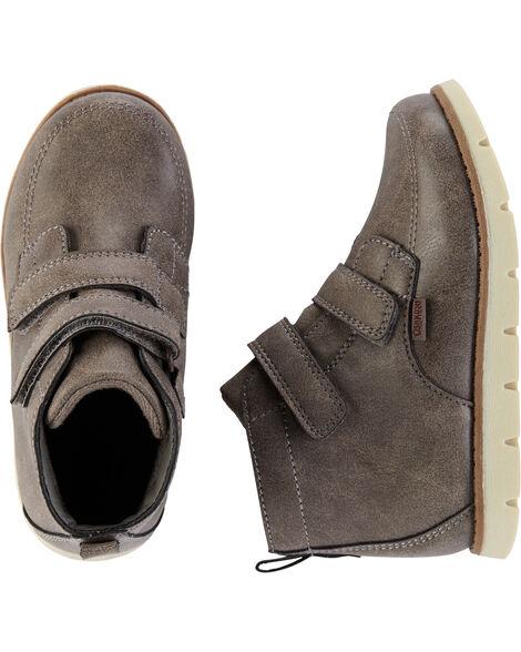 Grey Dress Boots