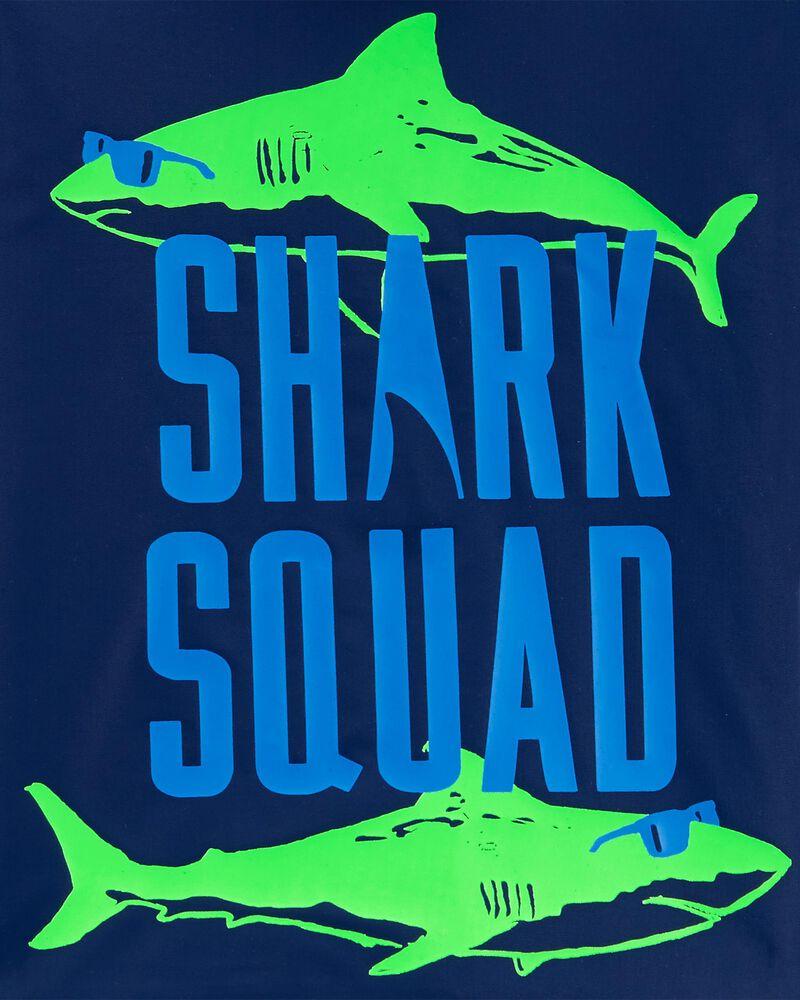 2-Piece Shark Rashguard Set, , hi-res