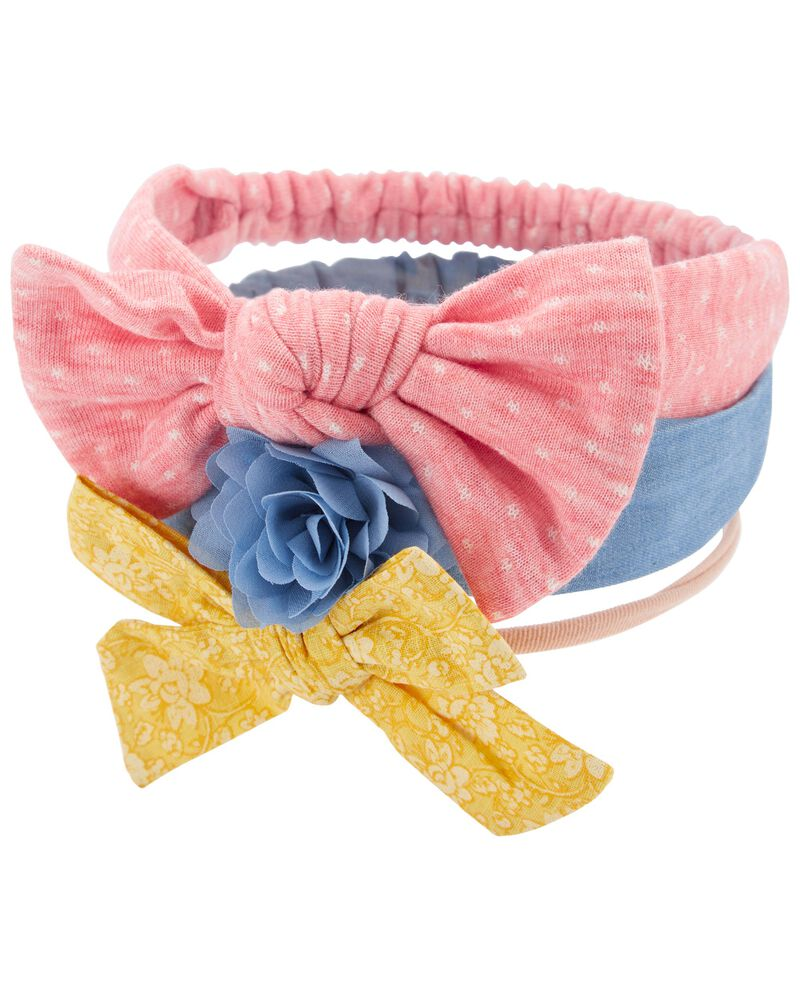 3-Pack Headwraps, , hi-res