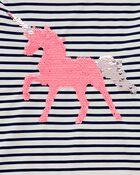 Flip Sequin Unicorn Rashguard Set, , hi-res