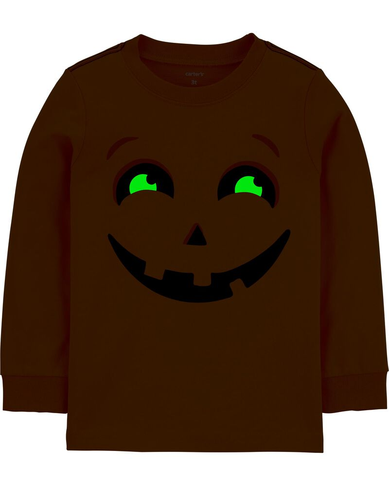 T-shirt en jersey citrouille d'Halloween, , hi-res