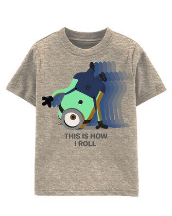 T-shirt Minions qui brille