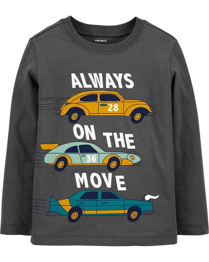 T-shirt en jersey Always On the Move Car, , hi-res