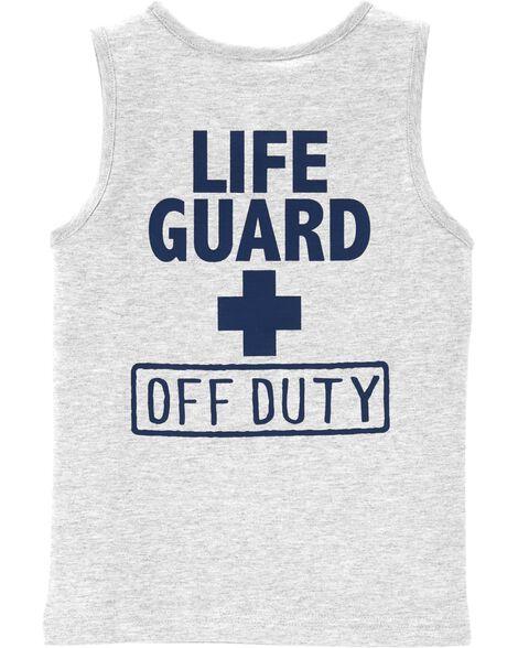 Lifeguard Jersey Tank