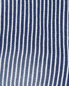 Stretchy Hickory Stripe Overalls, , hi-res