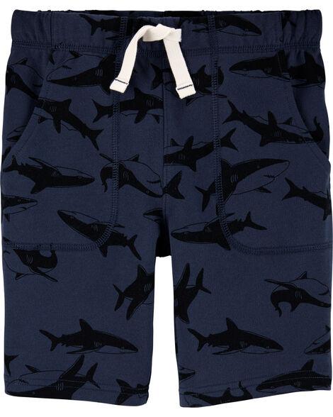 Shark Pull-On Shorts