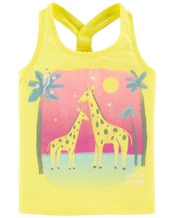 Giraffe Racerback Tank