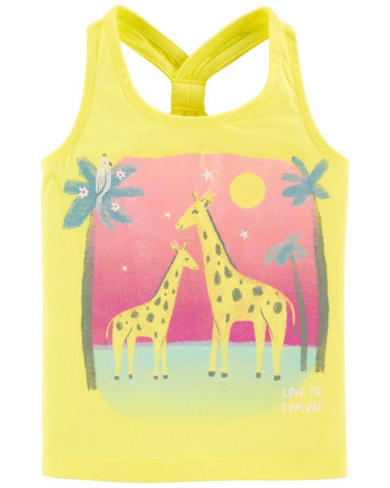 Giraffe Racerback Tank, , hi-res