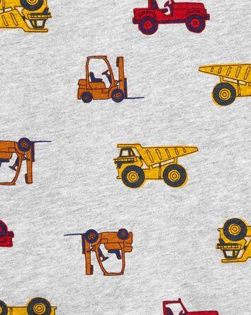 T-shirt henley de construction