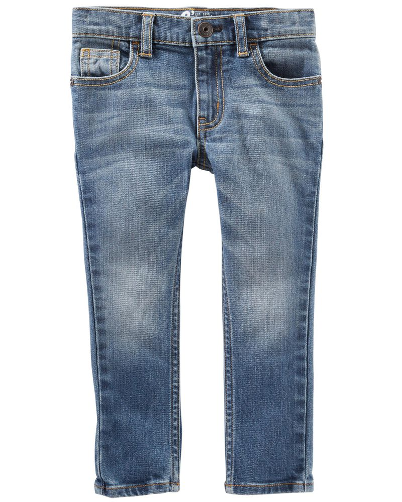 Skinny Jeans - Indigo Bright Wash, , hi-res