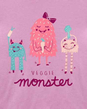 Veggie Monster Jersey Tee