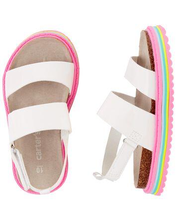 Sandales à talon plateforme